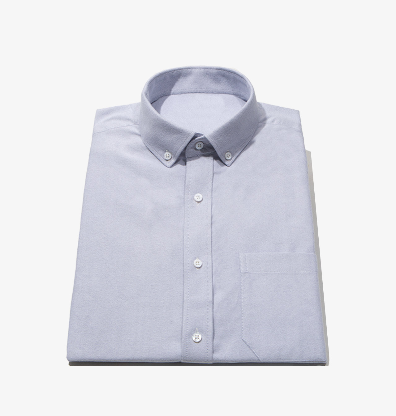 Shirts casual grey brushed oxford 1402 for Blank label clothing